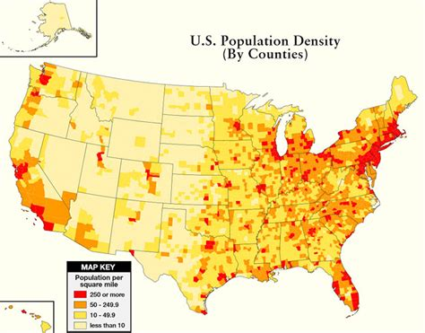 population density map of united states more important than preps and skills modern survival