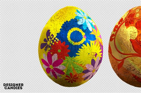 new year egg free easter egg renders pack designercandies