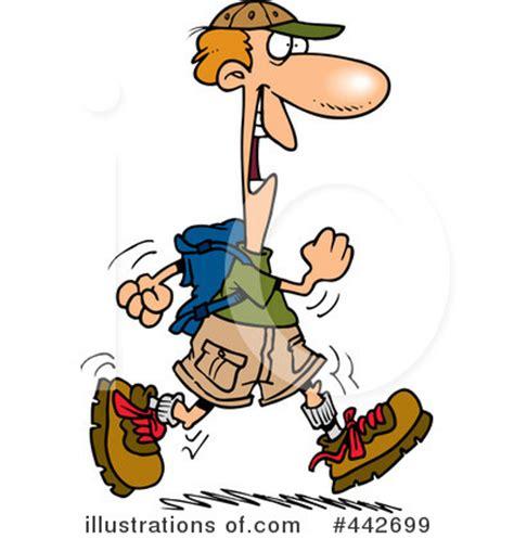 hiker cartoons clipart clipart suggest