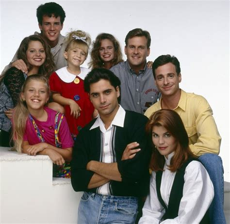 the cast of full house bob saget lori loughlin and dave coulier are only in full house spinoff s first episode