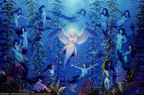 mermaid fairy faeygirls mermaids by david delamare faeygirl s website is