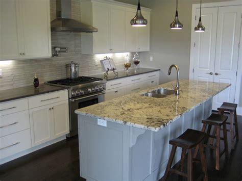 kitchen alaska white granite traditional kitchen