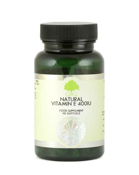 e supplement 400 iu vitamin e 400iu 90 softgels gandgvitamins