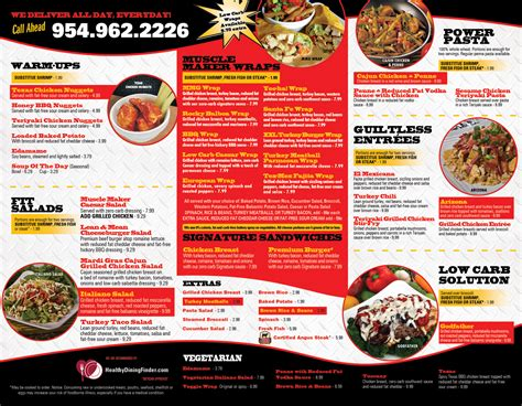 cafe menu design and print restaurant menu design print in miramar florida