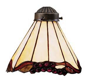 grape trellis mix n match style ceiling fan glass shade by elk lighting ebay