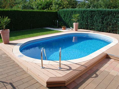 pool im garten selber bauen holzterrasse pool selber bauen pool selber bauen