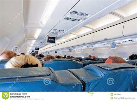 airbus a320 sieges int 233 rieur d avion avec des passagers sur des si 232 ges