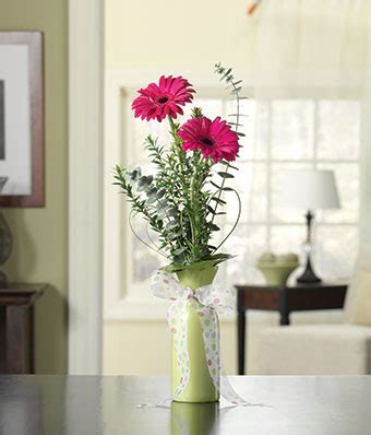 How To Arrange Gerbera Daisies In A Vase by Pink Gerbera Bud Vase At From You Flowers