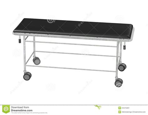 bed on wheels surgery bed on wheels stock image image 24479461