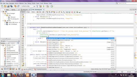 cara membuat uml di netbeans cara membuat coding cari search dengan java di netbeans