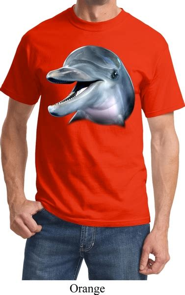The Dolphin S S T Shirt mens dolphin shirt big dolphin t shirt big
