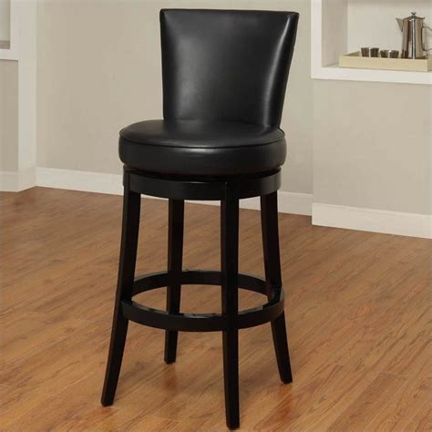 bar stools boston armen living boston 30 quot bicast leather swivel bar stool in