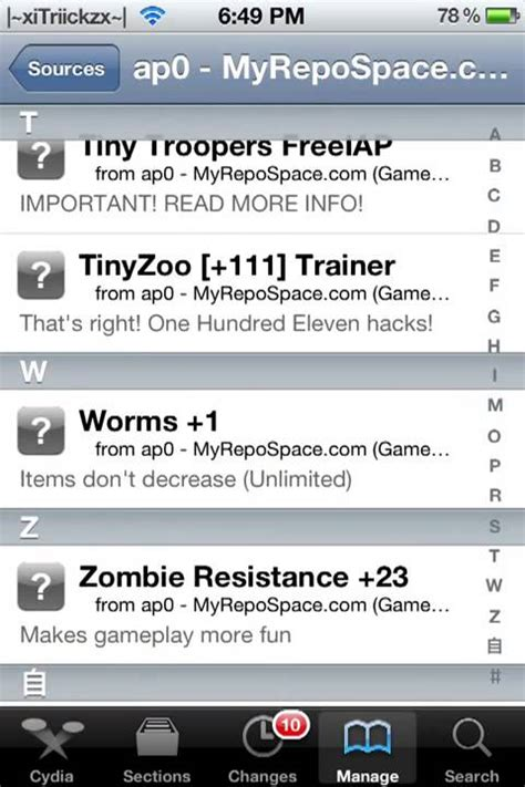 best game mod cydia sources best game hack sources on cydia youtube