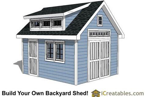 shed plans  dormer icreatablescom shed