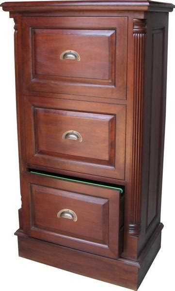 Drawers Made To Order by 3 Drawer Mahogany Filing Cabinet With Antique Handles