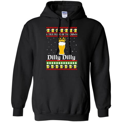Sweater Rajut Crown Sweater Navy a true friend of the crown dilly dilly sweater hoodie rockatee