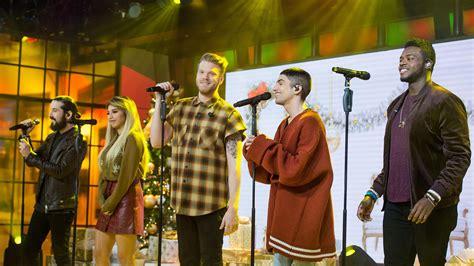 pentatonix perform merry christmas happy holidays   today todaycom