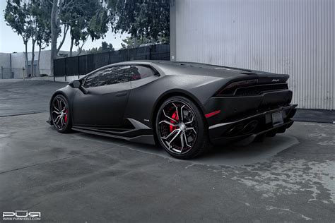 grey lamborghini huracan featured fitment hurac 225 n with pur lx10 v3 wheels