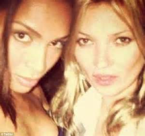 Ahhh The Divas Bff Kate Moss The Does by Transgender Supermodel Ines Loan Rau Bares All In Sizzling
