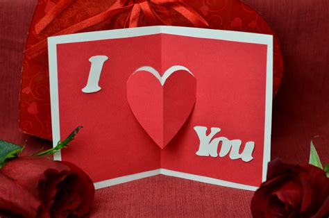 valentines card ideas for s day pop up cards