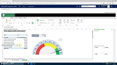 Crm Excel Template by Demo Crm 2016 Excel Templates
