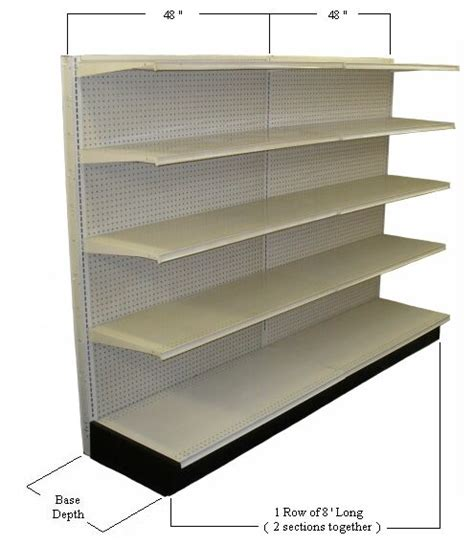 Store Wall Shelving Used Gondola Shelving Used Store Shelving Retail