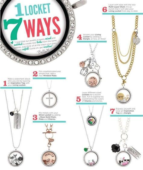 227 best images about origami owl lockets on