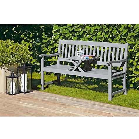 Holzbank Mit Tisch by Sunfun Holzbank Mit Tisch Corinna 150 Cm Integrierter