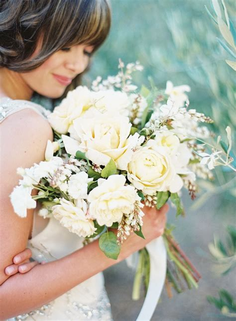 Garden Wedding Flowers Garden Wedding Inspiration Bridal Bouquet Yellow White Once Wed