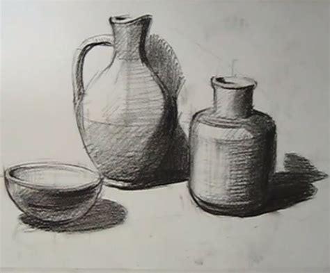 gambar bentuk dengan teknik arsir