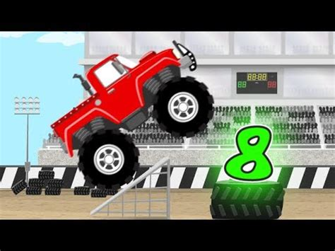 monster truck music video monster truck numbers learn to count numbers and monster