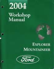 car service manuals pdf 2004 mercury mountaineer electronic toll collection 2004 ford explorer mercury mountaineer workshop manual