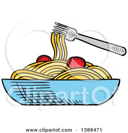 pasta clipart bowl of spaghetti clipart