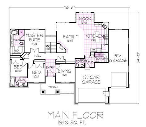 fabulous jack and jill bath hwbdo07153 french country jack and jill floor plans plan of the week town amp