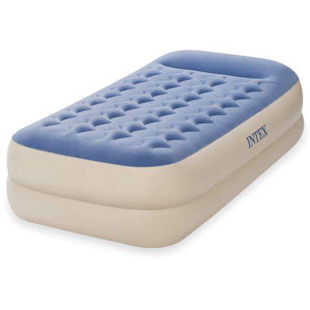 intex  dura beam standard raised pillow rest air
