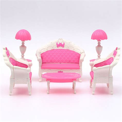 pink living room set pink dollhouse furniture living room parlour sofa set