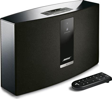 wireless multi room audio buy bose soundtouch 20 iii wireless smart sound multi room speaker free delivery currys