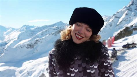 lea seydoux james bond sunglasses spectre the james bond launch and special video from lea