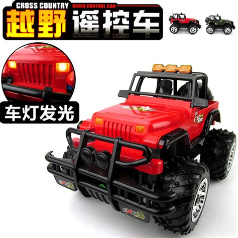 Rc Jeep Baterai Cas 114 Remote Rc Jeep Offroad King