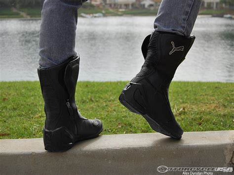 motorcycle bike boots puma roadster v3 motorcycle boot review photos