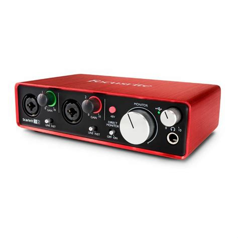 focusrite 2i2 usb audio interface 2nd generation ebay