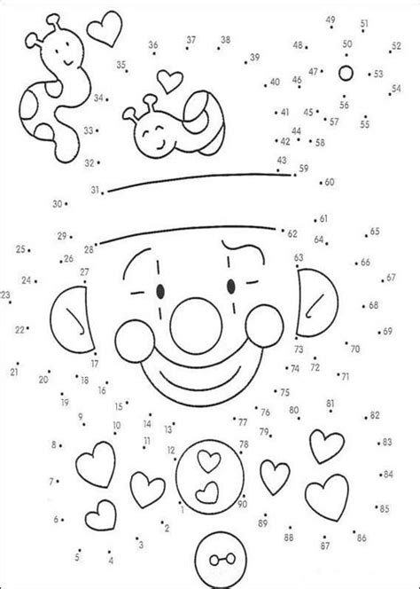Color The Dots Printable Pages free coloring pages of dinosaur connect the dots