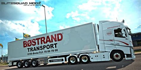 bostrand transport combo pack ets euro truck simulator  mods