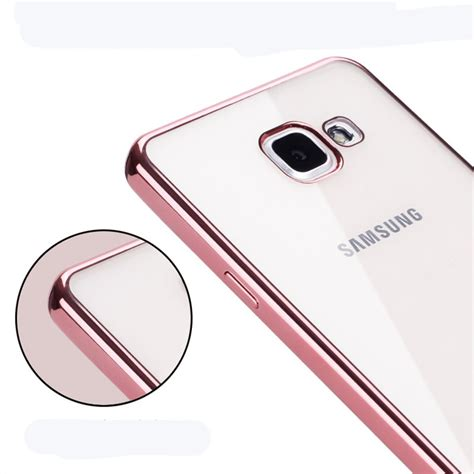 Bumper Mirror Samsung Galaxy J2 2016 Hardcaseslid Berkualitas mirror plating soft rubber silicon on for samsung
