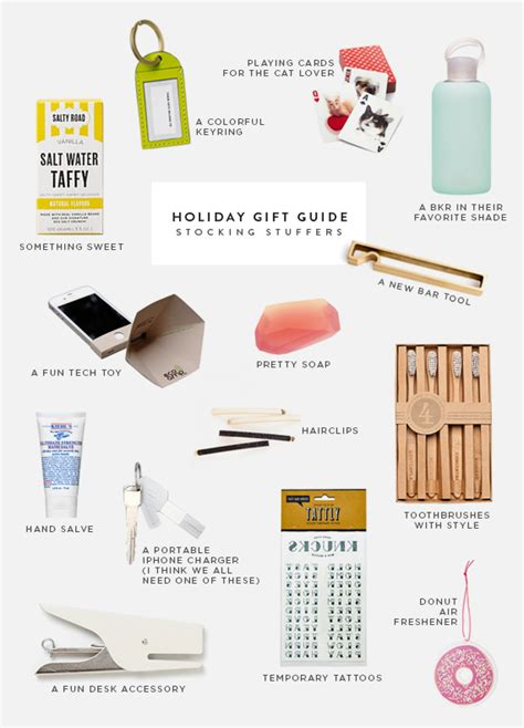5 Gift Guide Posts To Blogstalk by Gift Guide Stuffers Almost Makes