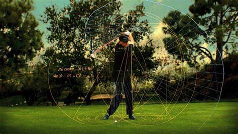 golf swing science math in the media