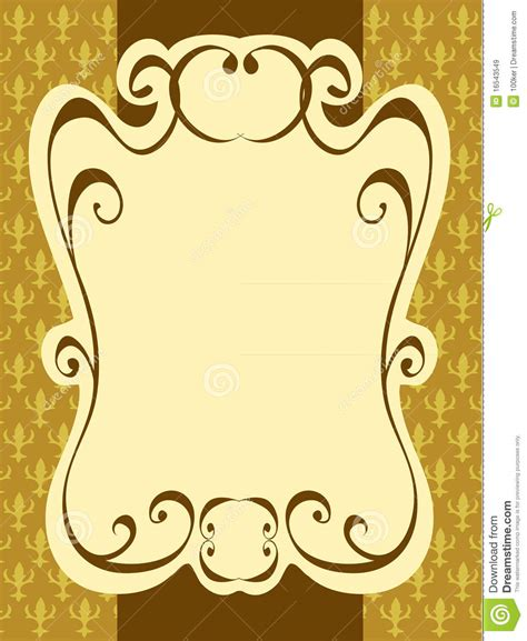 vintage frame pattern free vintage label frame pattern royalty free stock images
