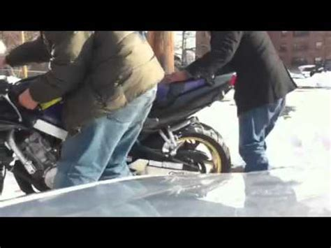 Putting On A Motorcycle Cover For Dummies Youtube