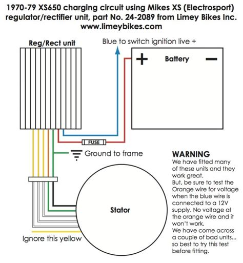 wiring diagram 6 pin rectifier diagram free