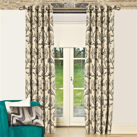 jacquard eyelet curtains scatter box maisey floral jacquard eyelet curtains ebay